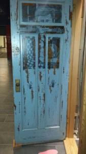back of door